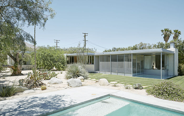Miller House, Palm Springs by Richard Neutra (Photo © David Schreyer, courtesy Wien Museum)