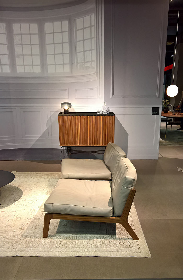 Sova Lounge chair by Bernhard Müller for [more], as seen at IMM Cologne 2020
