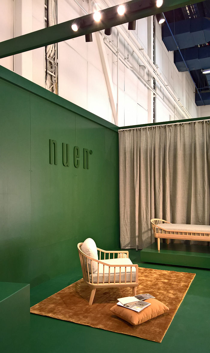 EIO Lounge Chair from Nuen, as seen at Stockholm Furniture Fair 2020 Stockholm Furniture Fair 2020
