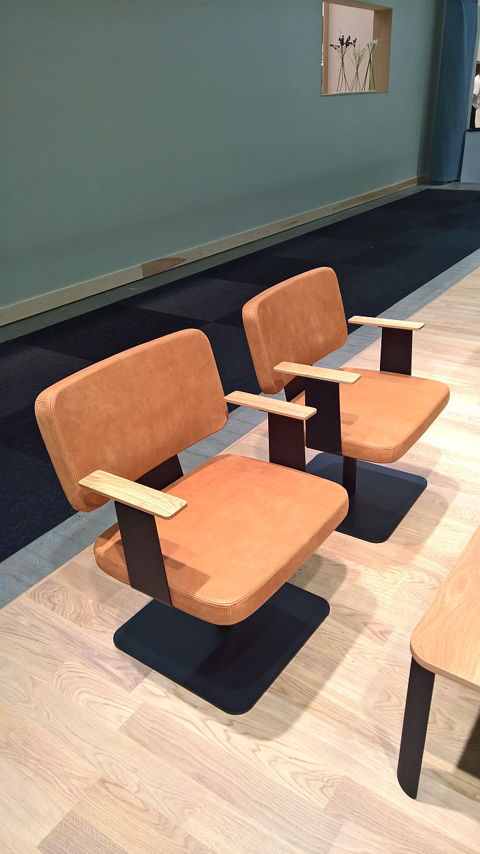 Grand Chair by Thomas Bernstrand & Stefan Borselius for Horreds, as seen at Stockholm Furniture Fair 2020 Stockholm Furniture Fair 2020