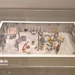 A model of Warhol's Silver Factory, as seen at Home Stories: 100 Years, 20 Visionary Interiors, Vitra Design Museum