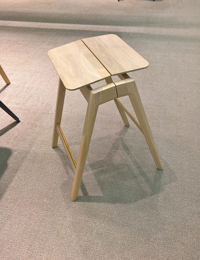 Knekk by Jon Fauske for Fora Form, as seen at Stockholm Furniture Fair 2020 Stockholm Furniture Fair 2020