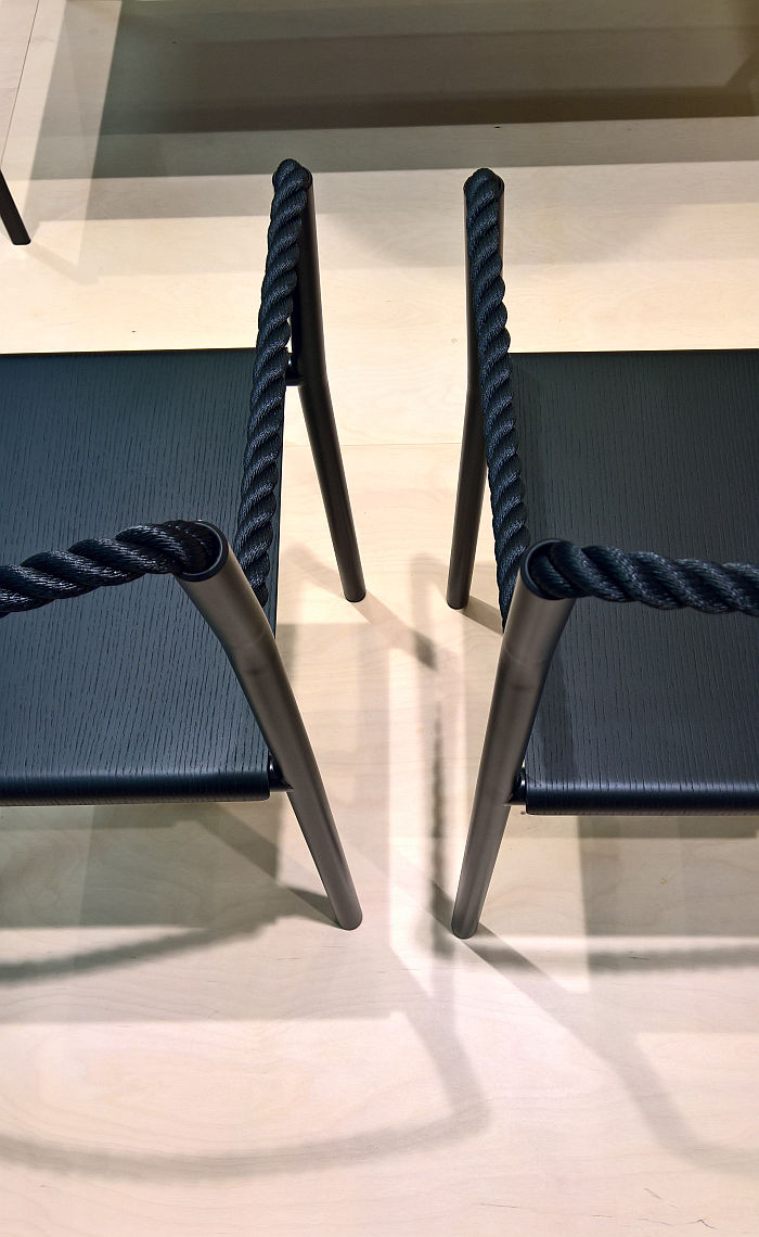 Rope Chair by Ronan and Erwan Bouroullec for Artek, as seen at Stockholm Furniture Fair 2020 Stockholm Furniture Fair 2020