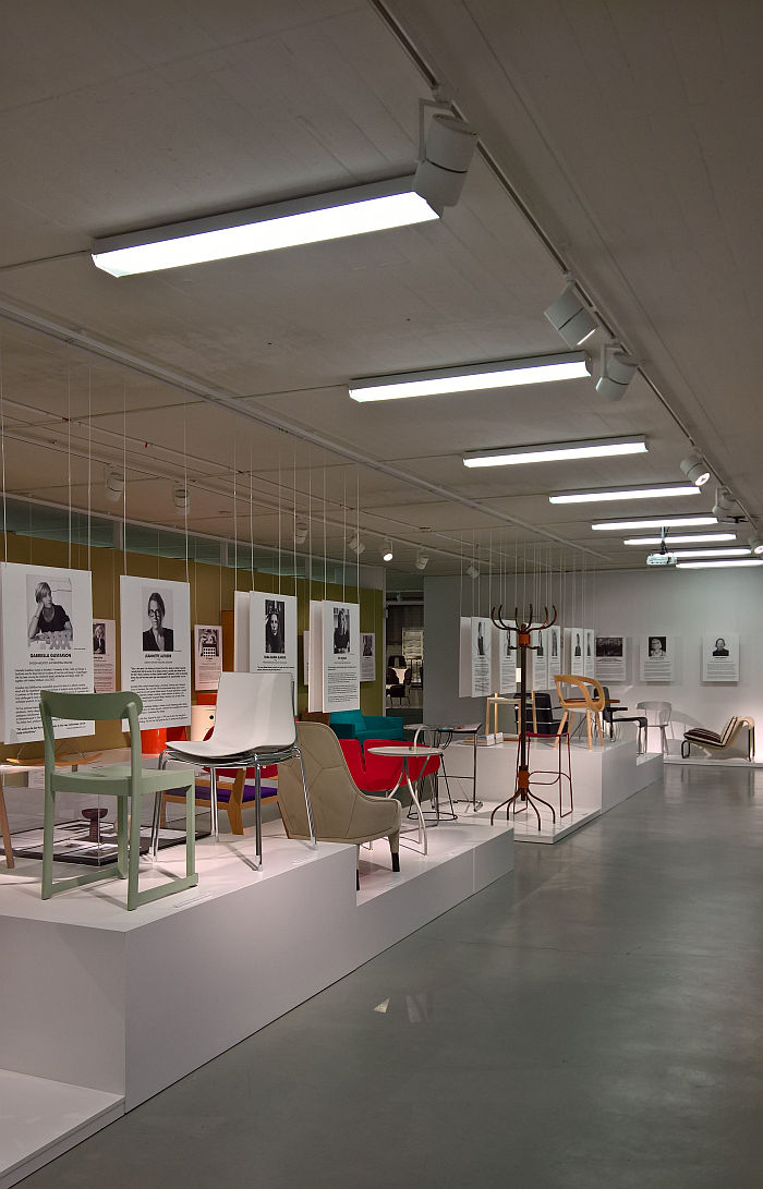 Female Traces, the Museum of Furniture Studies, Stockholm