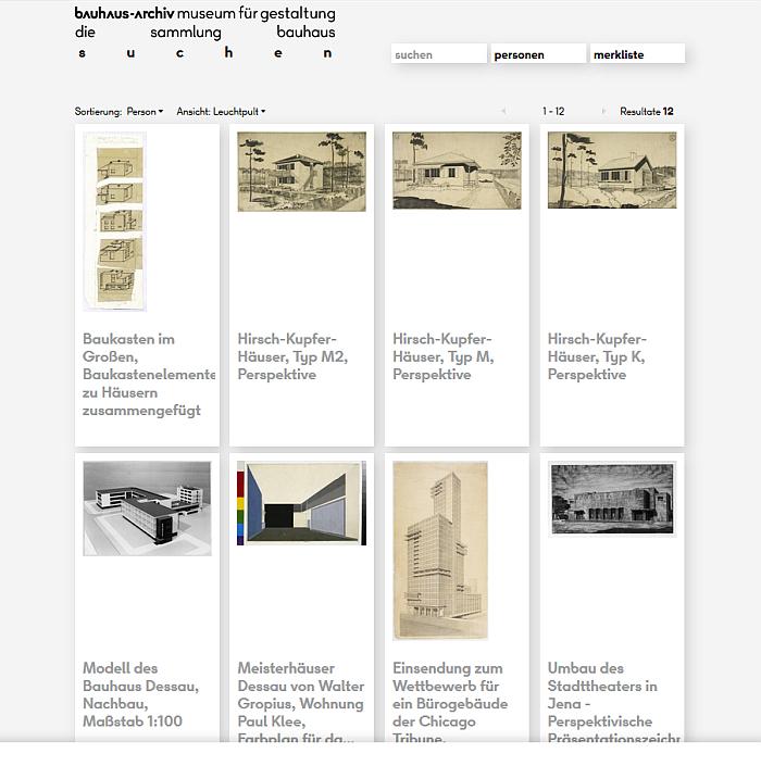Bauhaus Archiv Berlin – Open Archive