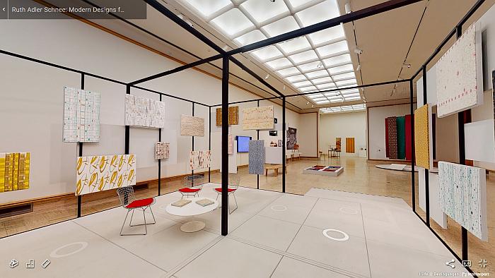 Cranbrook Museum of Art – Virtual Tour of Ruth Adler Schnee: Modern Designs for Living