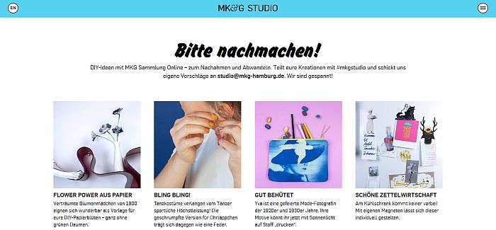 Museum für Kunst und Gewerbe Hamburg – MK&G Studio