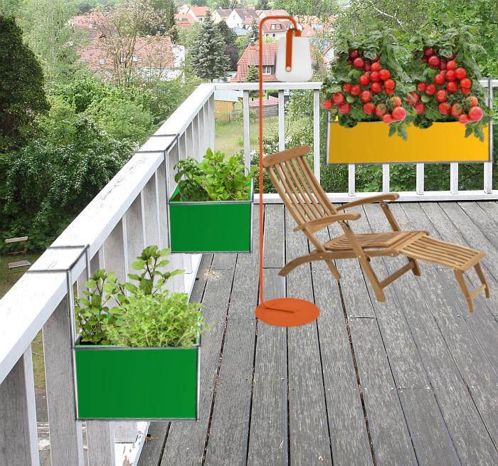 USM Haller Balcony Planter