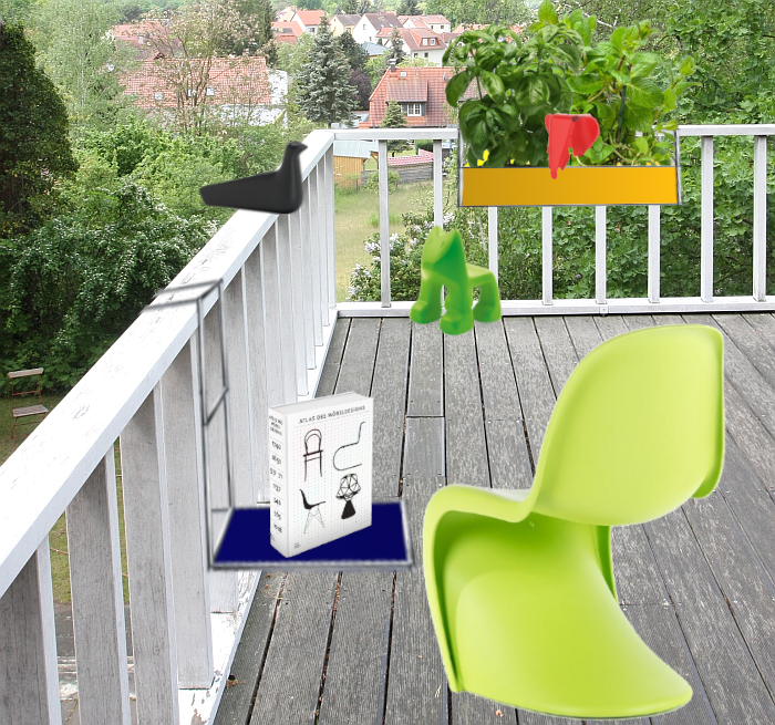 USM Haller Balcony Table