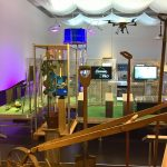 Turning plough-shares into drones.....?, as seen at Future Food. What will we eat tomorrow?, Deutsches Hygiene-Museum, Dresden