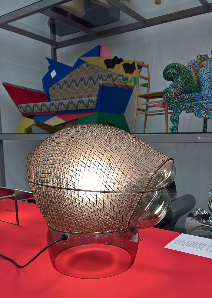 Patroclo by Gae Aulenti for Artemide, as seen at Gae Aulenti: A Creative Universe, Vitra Design Museum Schaudepot