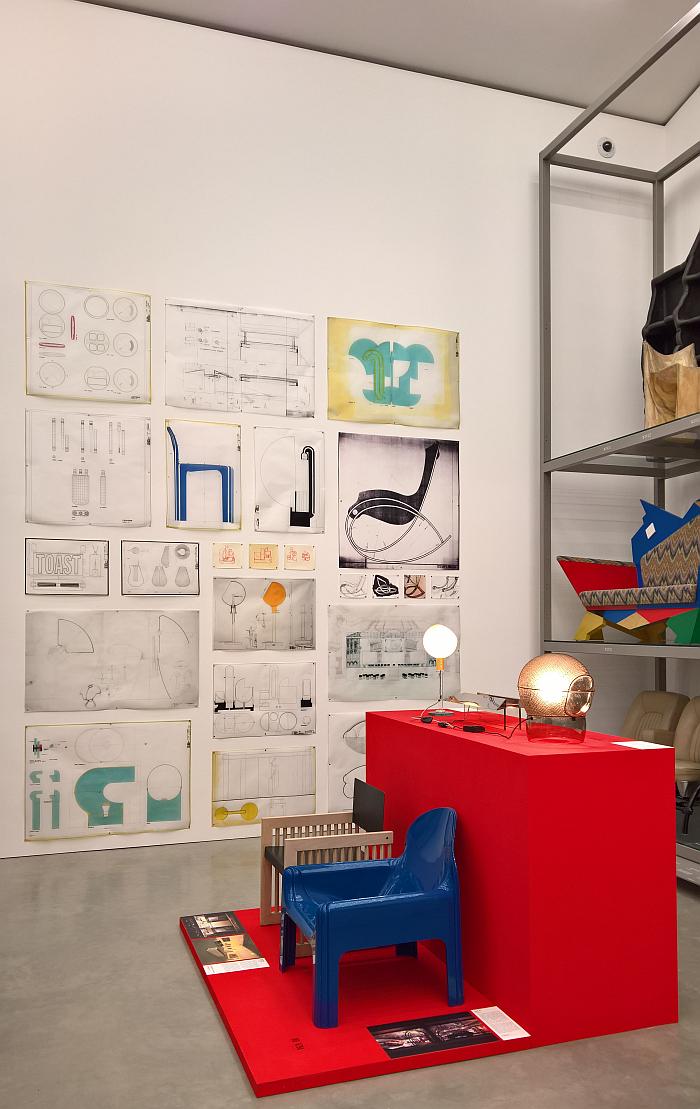 Gae Aulenti: A Creative Universe, Vitra Design Museum Schaudepot