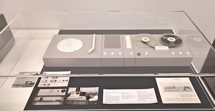 Radio-Phono-Audiotape Modular System by Herbert Lindinger and Hans Gugelot, as seen at Hans Gugelot. The Architecture of Design, HfG-Archiv Ulm