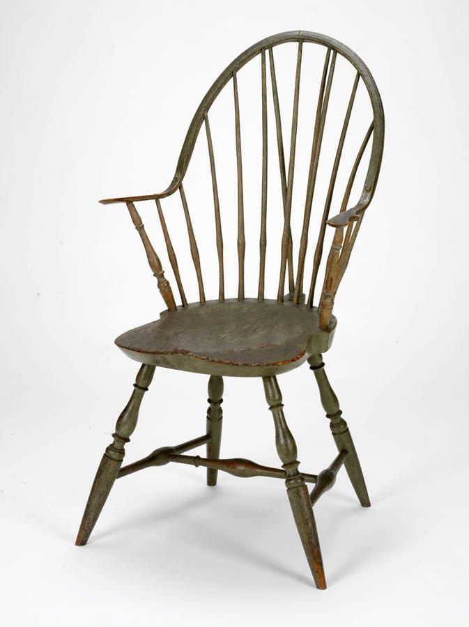 American Windsor Armchair (probably Connecticut, 1780-1800) (Image © and courtesy Rhode Island School of Design Museum)