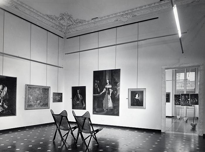 Franco Albini and Franca Helg, Palazzo Bianco, Genoa, 1949-51. (Photo © A. Villani & Figli, Fondazione Franco Albini, courtesy Het Nieuwe Instituut), part of Art on Display 1949-69, Het Nieuwe Instituut, Rotterdam