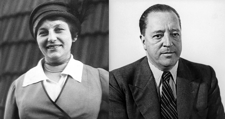 Lilly Reich and Ludwig Mies van der Rohe
