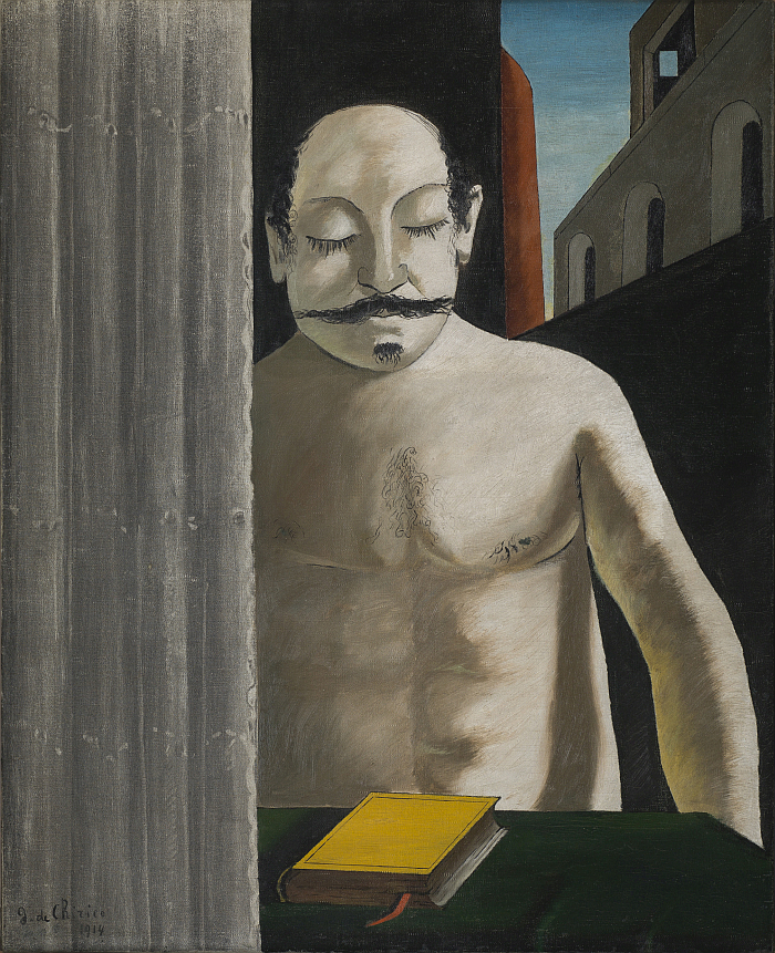 Giorgio de Chirico, Le Cerveau de l'enfant, 1914, part of De Chirico. Magical Reality, Hamburger Kunsthalle, Hamburg (image © Moderna Museet, Stockholm, courtesy Hamburger Kunsthalle)