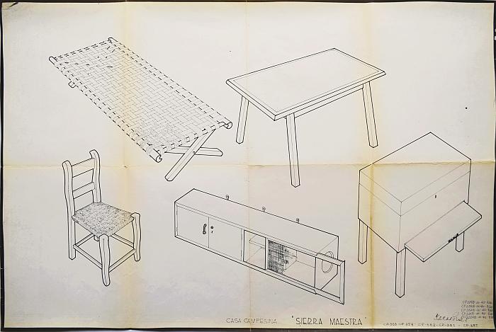 "Furniture by Clara Porset &amp; Xavier Guerrero for the 1940 Museum Modern Art, New York competition (photo commons.wikimedia.org CC BY-SA 4.0, courtesy <a href=""https://cidi-unam.com.mx/cidi_nw/nosotros/archivo_clara_porset/"" target=""_blank"" rel=""noopener"">Archivo Clara Porset Dumas</a>)"