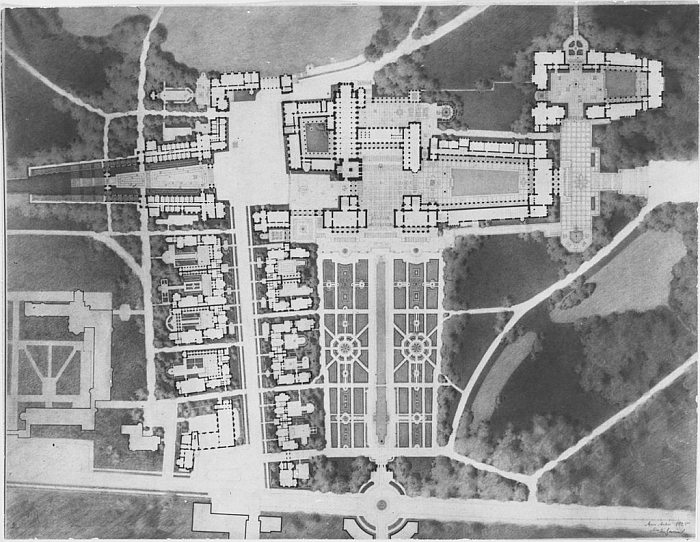 Proposed Plan for Cranbrook Academy of Art (Image Cranbrook Archives)