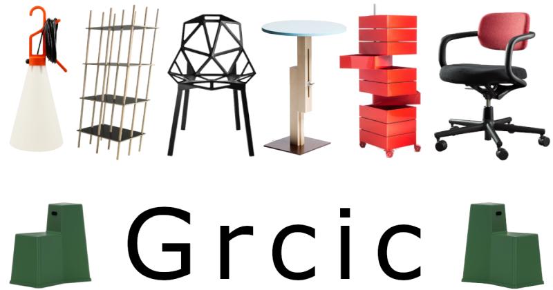 The Historia Supellexalis G for Grcic