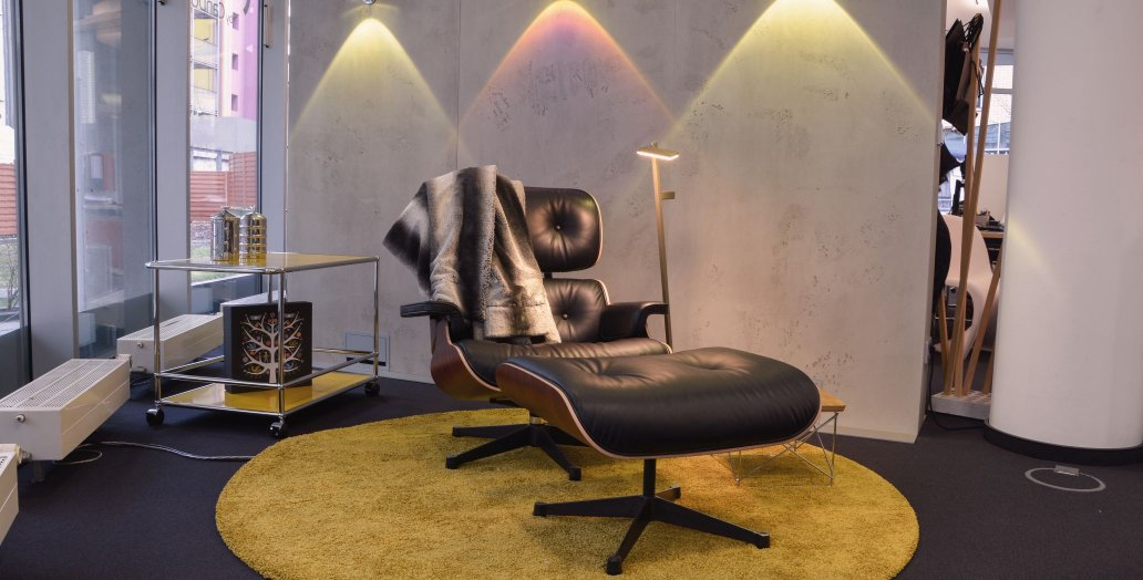 smow Frankfurt Eames Lounge Chair