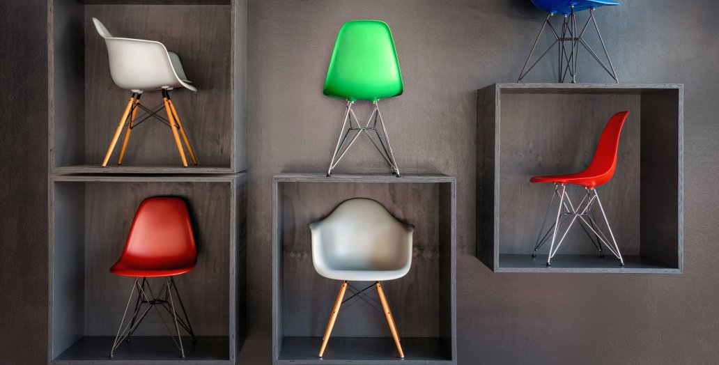 Eames chairs smow showroom Cologne