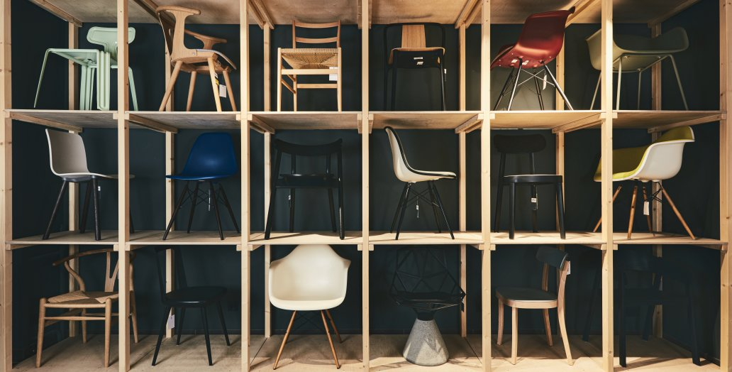 Designer chairs from smow Munich