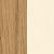 Natural oak, beige foot rest