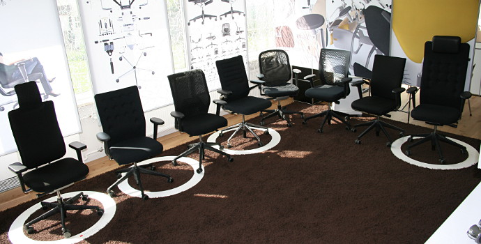 Vitra office chairs