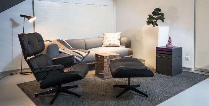 smow Leipzig Eames Lounge Chair