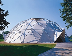 Dome by Richard Buckminster Fuller and T. C. Howard on the Vitra Campus