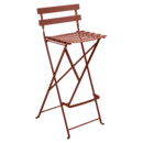 Bistro Bar Stool, Red ochre