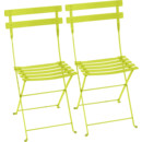Bistro Folding Chair Set of 2, Verbena