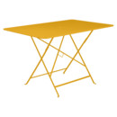 Bistro Folding Table rectangular, H 74 x W 117 x D 77 cm, Honey