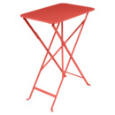 Bistro Folding Table rectangular, H 74 x W 57 x D 37 cm, Capucine
