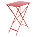 Bistro Folding Table rectangular, H 74 x W 57 x D 37 cm, Poppy