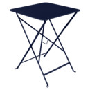 Bistro Folding Table rectangular, H 74 x W 57 x D 57 cm, Deep blue