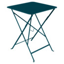 Bistro Folding Table rectangular, H 74 x W 57 x D 57 cm, Acapulco blue