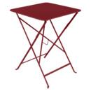 Bistro Folding Table rectangular, H 74 x W 57 x D 57 cm, Chili