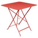 Bistro Folding Table rectangular, H 74 x W 71 x D 71 cm, Capucine