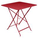 Bistro Folding Table rectangular, H 74 x W 71 x D 71 cm, Poppy