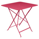 Bistro Folding Table rectangular, H 74 x W 71 x D 71 cm, Pink praline