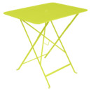 Bistro Folding Table rectangular, H 74 x W 77 x D 57 cm, Verbena