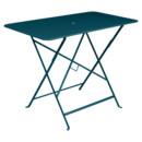 Bistro Folding Table rectangular, H 74 x W 97 x D 57 cm, Acapulco blue