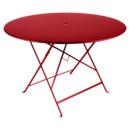 Bistro Folding Table round, H 74 x Ø 117 cm, Poppy