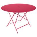 Bistro Folding Table round, H 74 x Ø 117 cm, Pink praline