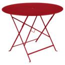 Bistro Folding Table round, H 74 x Ø 96 cm, Poppy