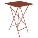 Bistro Bar Table, Red ochre
