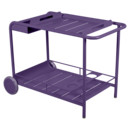 Luxembourg Bar Trolley, Aubergine