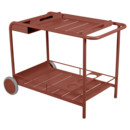 Luxembourg Bar Trolley, Red ochre